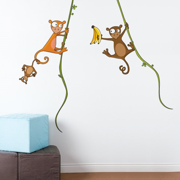 ADzif Wall Sticker Kiki's family