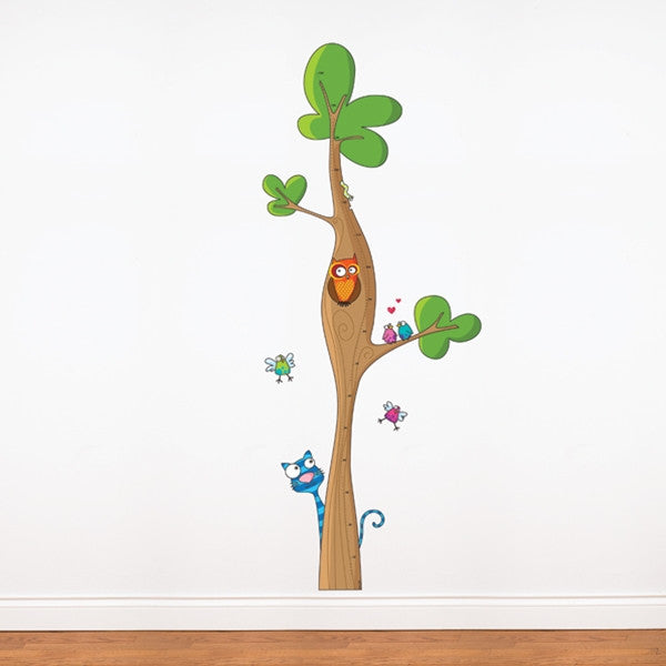 ADzif Wall Sticker Tree Height Gauge