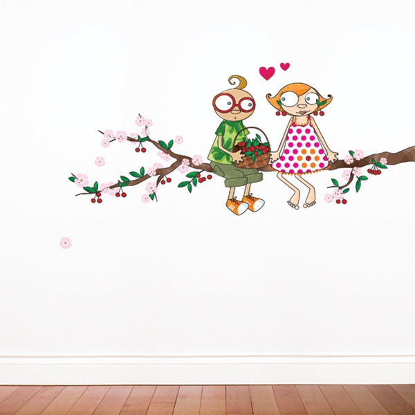 ADzif Wall Sticker Time of the Cherries