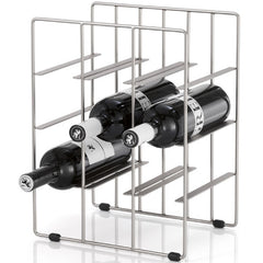 Blomus PILARE 9 Bottle Tabletop Wine Rack