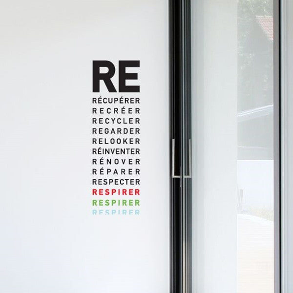 ADzif Wall Sticker Respirer