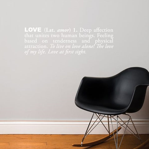 ADzif Wall Sticker Love