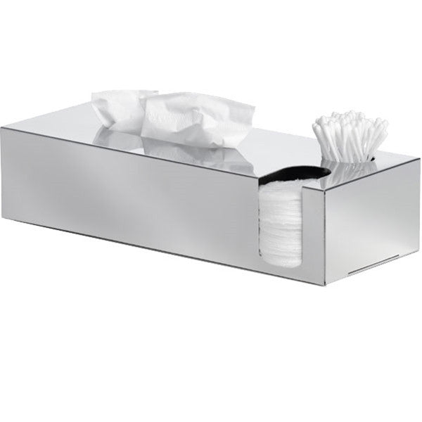 Blomus NEXIOTissue Box And Cotton Swab And Pads Dispenser Polished
