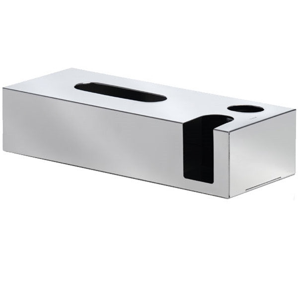 Blomus NEXIOTissue Box And Cotton Swab And Pads Dispenser - Polished