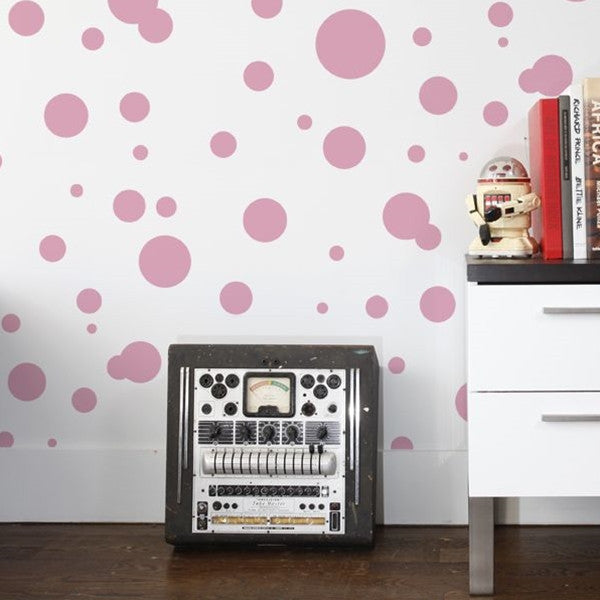 Aimée Wilder Wallpaper - Space Dots Peony