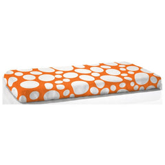 NOOK Fitted Crib Sheet Riverbed - Poppy
