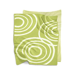 NOOK Knitted Organic Cotton Blanket Lawn