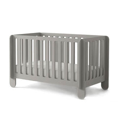 Oeuf Elephant Crib Grey