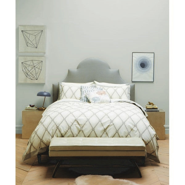 DwellStudio Duvet Set - Hadley Cloud - King