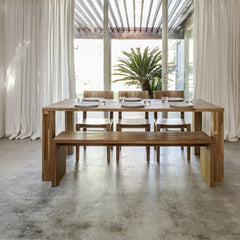 MASHstudios LAX Edge Dining Table