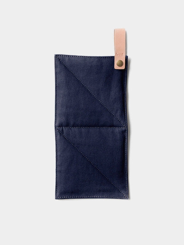 ferm LIVING Canvas Pot Holder Blue