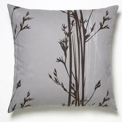 Amenity Hemp Pillow Cove Grey + Espresso