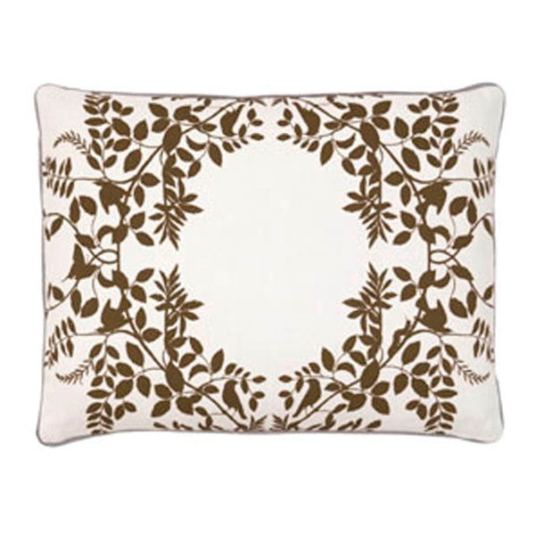 DwellStudio Pillow - Hedgegrow Dark Bronze