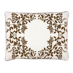 DwellStudio Pillow Hedgegrow Dark Bronze