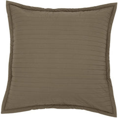 DwellStudio Euro Sham - Quilted Major Brown