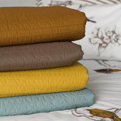DwellStudio Bed Coverlet - Quilted Major Brown