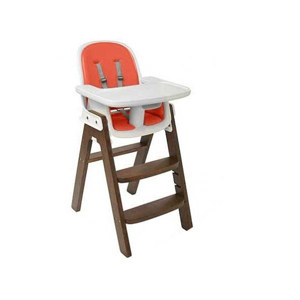 Oxo Tot - SproutTM Chair Walnut-Orange