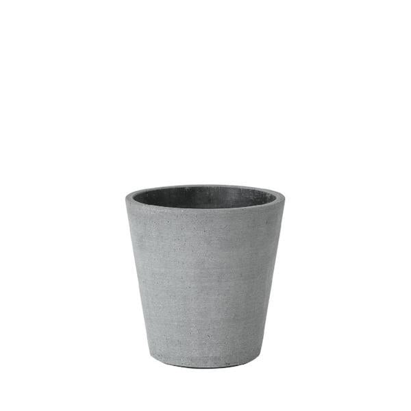 Blomus COLUNA Dark Grey Flower Pot Medium