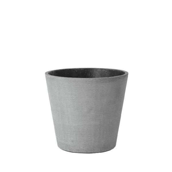 Blomus COLUNA Dark Grey Flower Pot Large