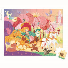 Janod - Princess Puzzle - 54 pcs