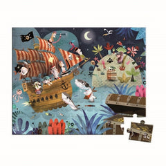 Janod - Treasure Hunt Puzzle - 36 pcs