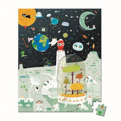 Janod - Space Mission Puzzle - 100pcs