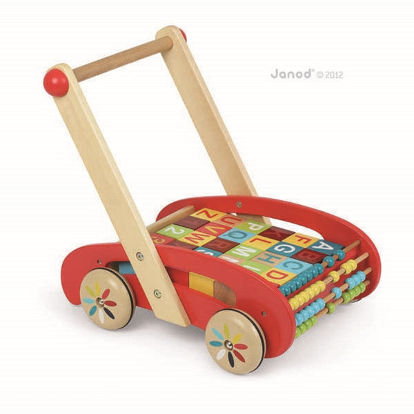 Janod Tatoo ABC Buggy Baby Walker