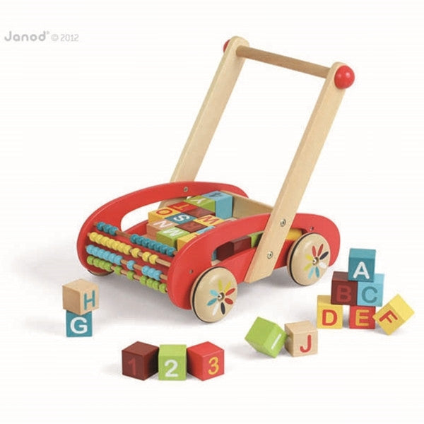 Janod - Tatoo ABC Buggy Baby Walker
