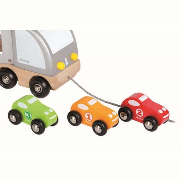 Janod Multi Cars Trucks