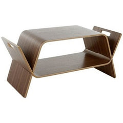 OFFI Embrace Table Walnut