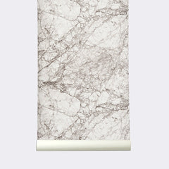 ferm LIVING Wallpaper Marble Gray