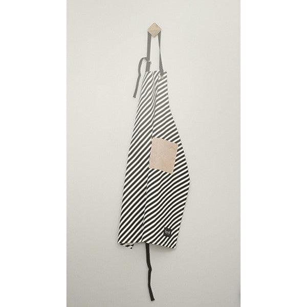 ferm LIVING kitchen Black Stripe Apron