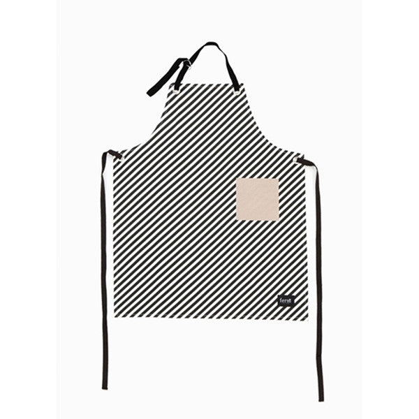 ferm LIVING kitchen- Black Stripe Apron