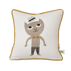 ferm LIVING Kids Pillows Cat Pillow