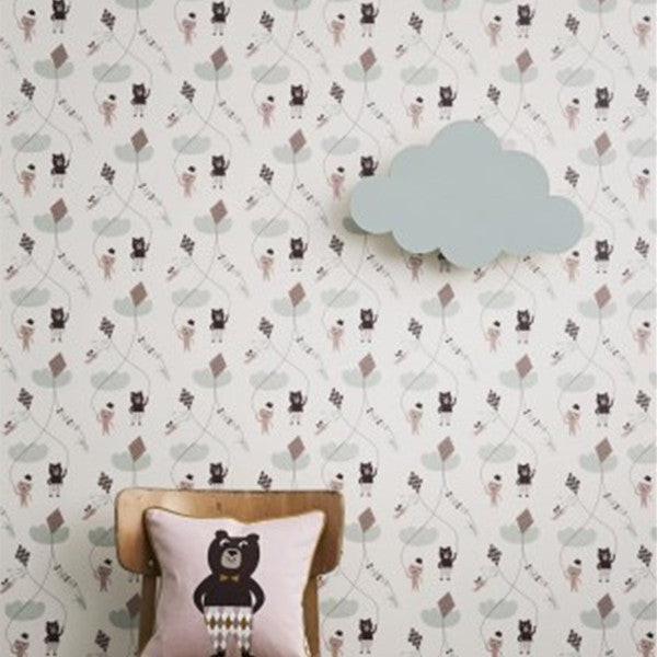 ferm LIVING Kids Pillows Bear Pillow