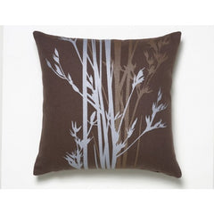 Amenity Hemp Pillow Cove Cocoa Silver