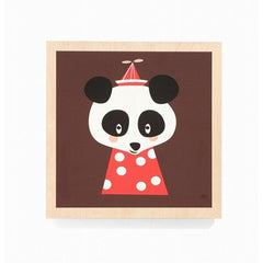 ferm LIVING - Posey Panda Picture