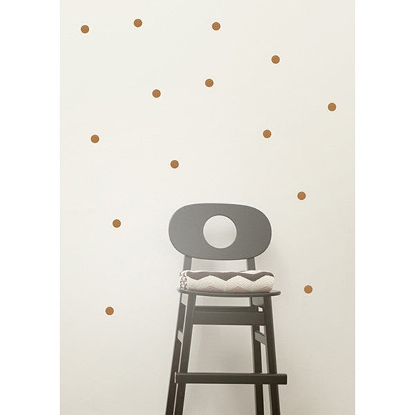 ferm LIVING - Mini Dots Wall Sticker (Copper)