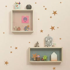 ferm LIVING - Mini Stars Wall Sticker (Copper)