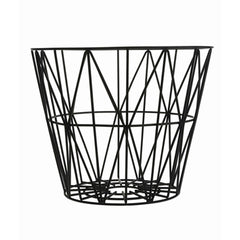 ferm LIVING Wire Basket Black S, M, L