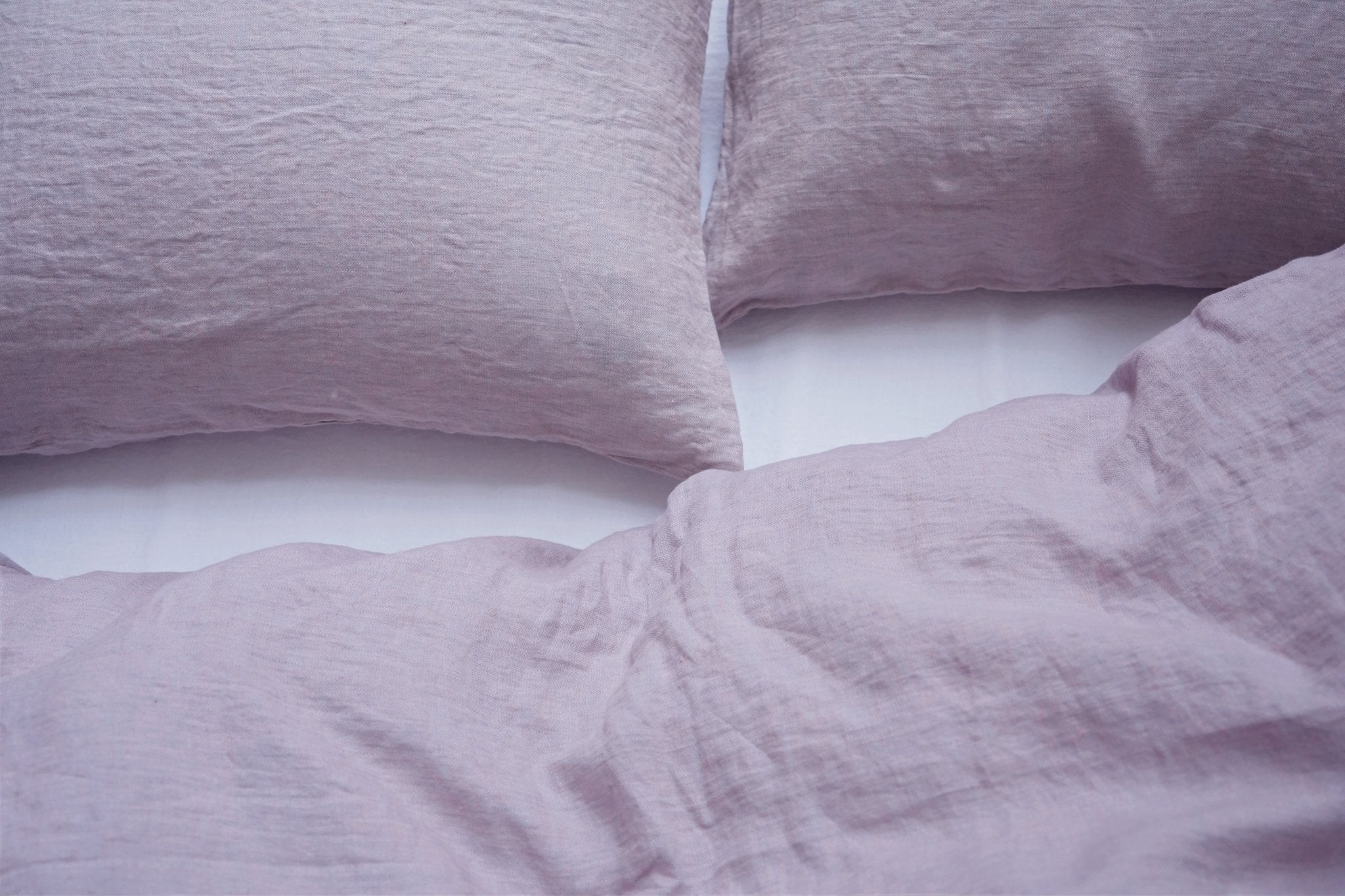 Area Bedding CAMILLE Lilac King Duvet Cover