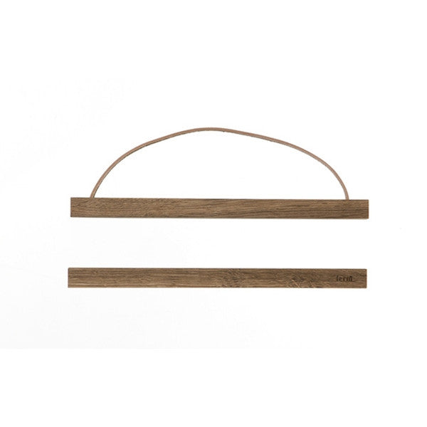 ferm LIVING -Small Wooden Frame (Smoked Oak)
