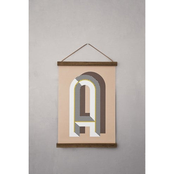 ferm LIVING Small Wooden Frame Smoked Oak