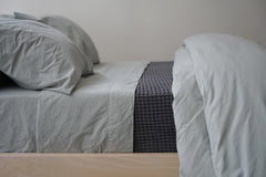 Area Bedding ANTON Mineral Twin Fitted Sheet