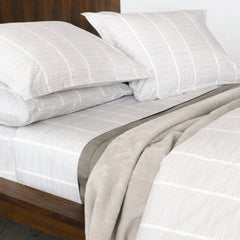 Area Bedding PINS Grey Pair Pillow Cases - King