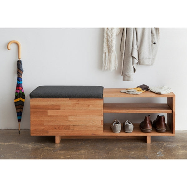 MASHstudios LAX Storage Bench