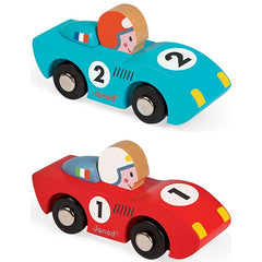 Janod -Story - Racing Speed Cars (set of 6)
