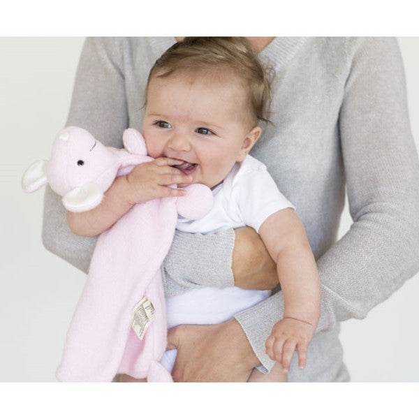 Apple Park Patterned Lamby Rattle