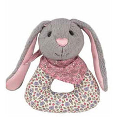 Apple Park - Patterned Bunny Rattle