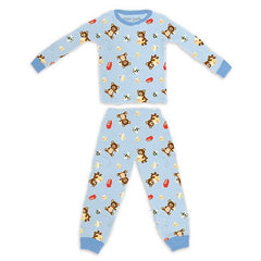 Apple Park Organic Cotton Pajama Cubby 6-12M